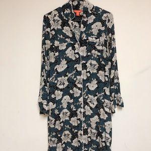 Joe fresh floral shirt dress